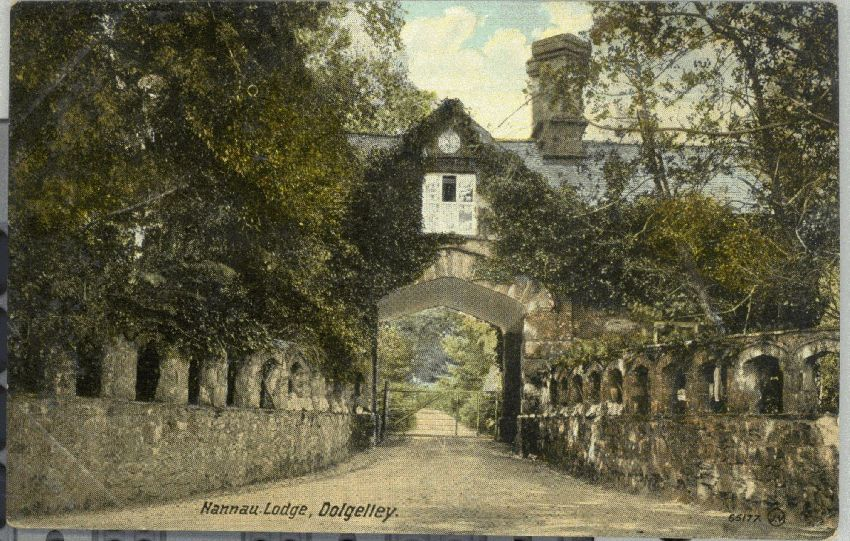 Coed y Moch Lodge, c.1910 (Peter Davis Postcard Collection)