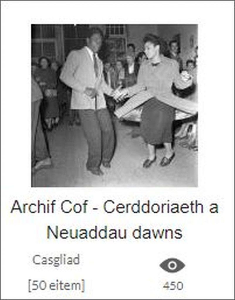 Archif Cof - Cerddoriaeth a Neuaddau dawns