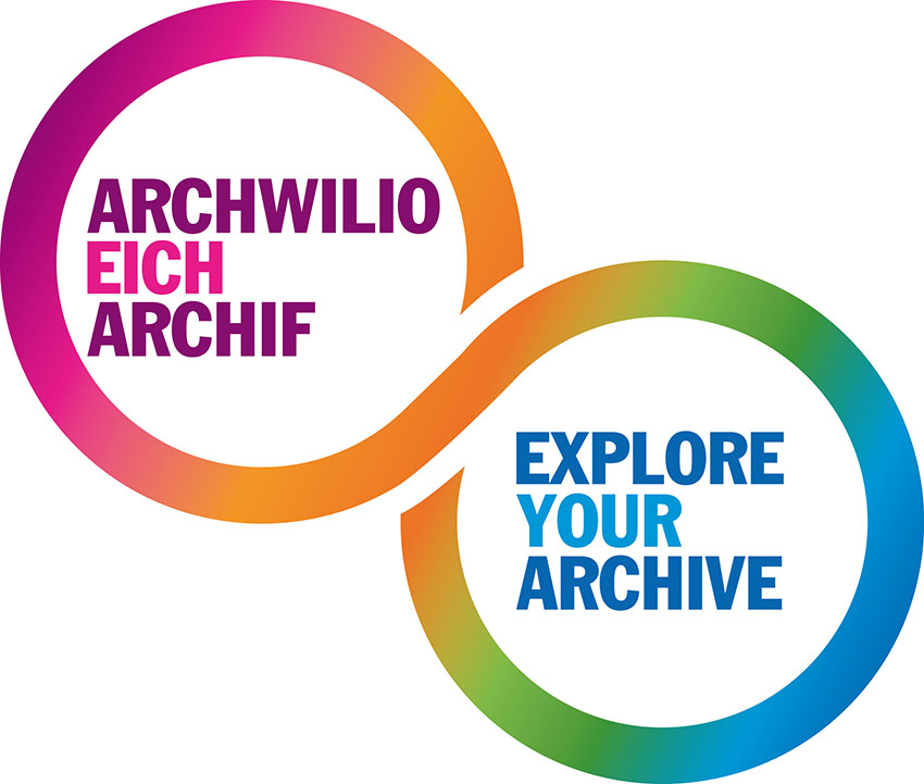 Archwilio Eich Archif - Explore Your Archive - logo