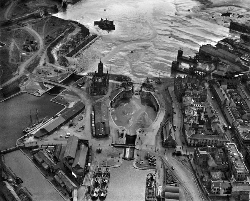 Cardiff Docks, 1929
