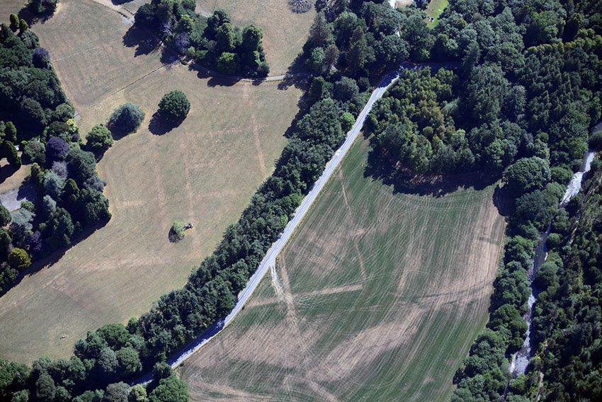 Trawscoed Roman Fort