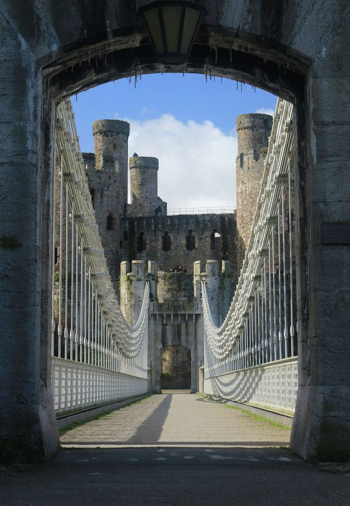 Conwy Suspension Bridge, 2017, 6495896, Ref DS2018_004_016, NPRN 43083