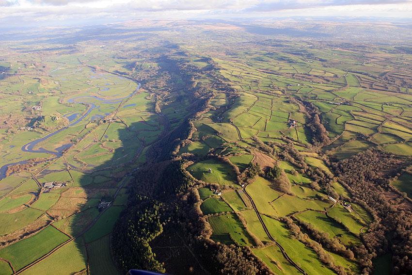 Tŵr Paxton a'r tir o'i gwmpas, NPRN 32666, AP_2012_5047, Arch 6475441