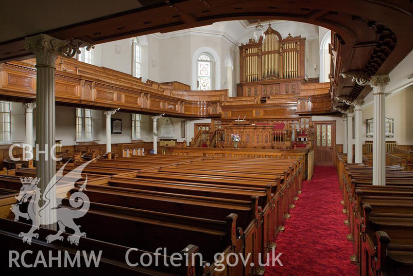 Capel Als the iconic Llanelli chapel, was first built in the later 18th century, rebuilt and enlarged in 1852 by the architect Thomas Thomas, Landore, and partially rebuilt again in 1894 by architect Owen Morris Roberts of Porthmadog.
