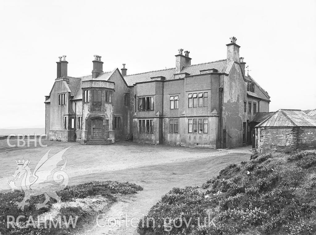 Cartref i giperiaid erbyn 1953 (Delwedd DI2009_0890)