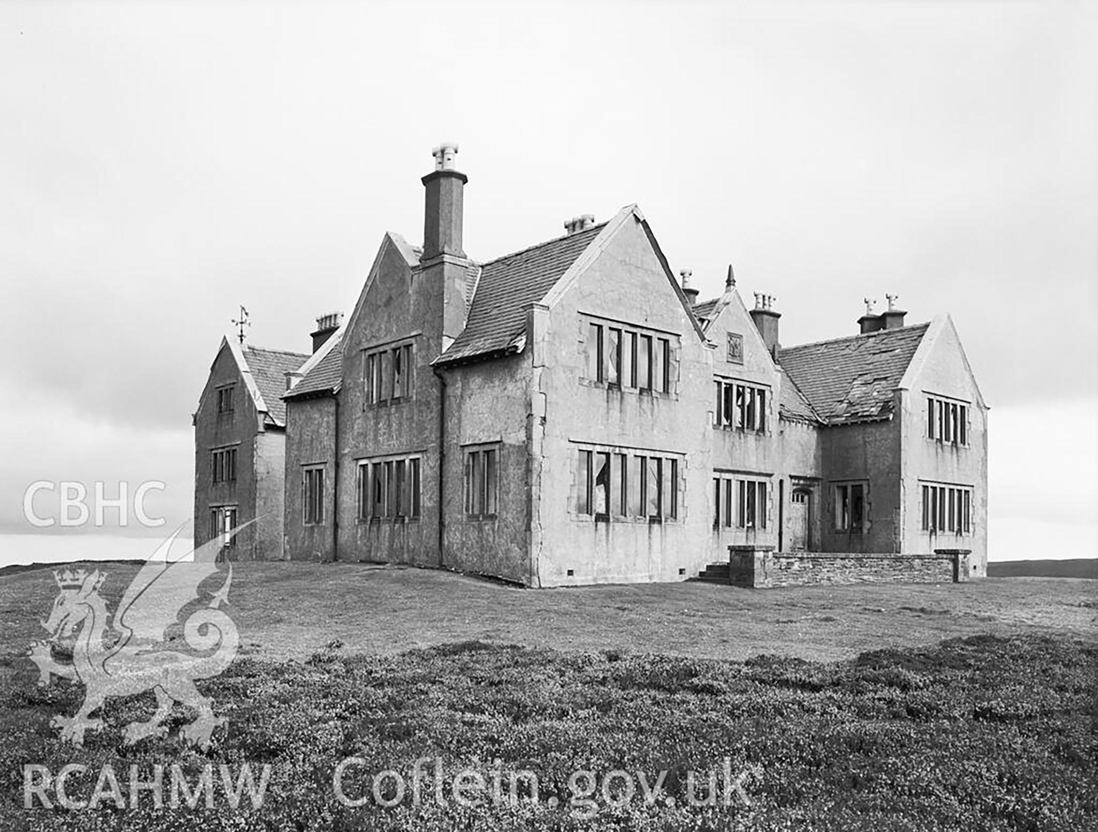 Gwylfa Hiraethog 1953 (Image DI2009_0892)