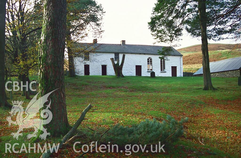 Soar-y-Mynydd, near Tregaron, a quintessentially rural chapel, built c. 1822, and perhaps the most photographed chapel in Wales
