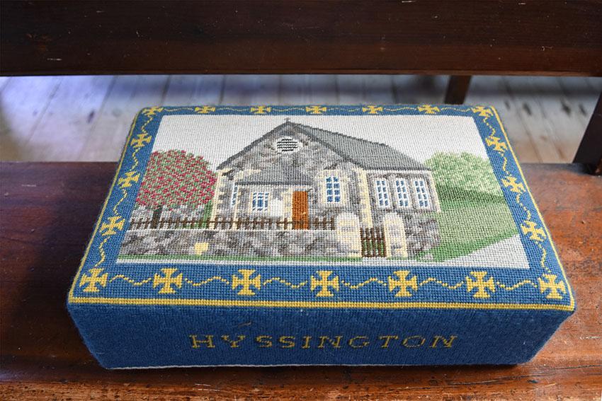 Hyssington Chapel kneeler, Arc no. 6532265, NPRN 11296