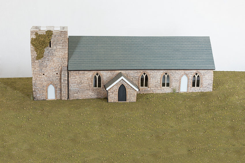 Model Pensaer o Eglwys Sant Ciwg, Llan-giwg, Rhif Archif 6397093, NPRN 96095